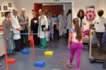 Sala de la Unidad de Rehabilitación Cardiaca del Hospital 12 de Octubre
