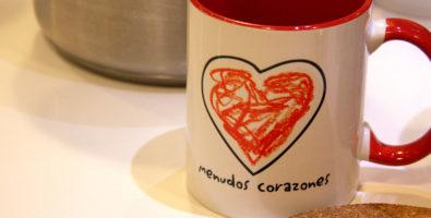 Taza de Menudos corazones. Crédito de la foto: Chainspain.com