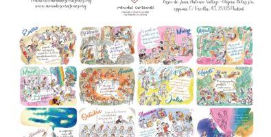 Calendario solidasrio Menudos_ilustraciones