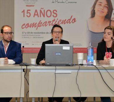 Miguel y Lucia contaron  lo que significa para ellos el programa de jóvenes de la fundación.