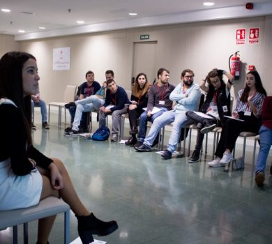 Por la tarde compartieron ideas sobre lo que será el programa de jóvenes en el próximo 2019.