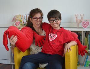ose, trasplantado el 11 de julio de 2016, y su madre