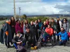 Convivencia VI Encuentro de Jóvenes 'Caminando a Santiago'
