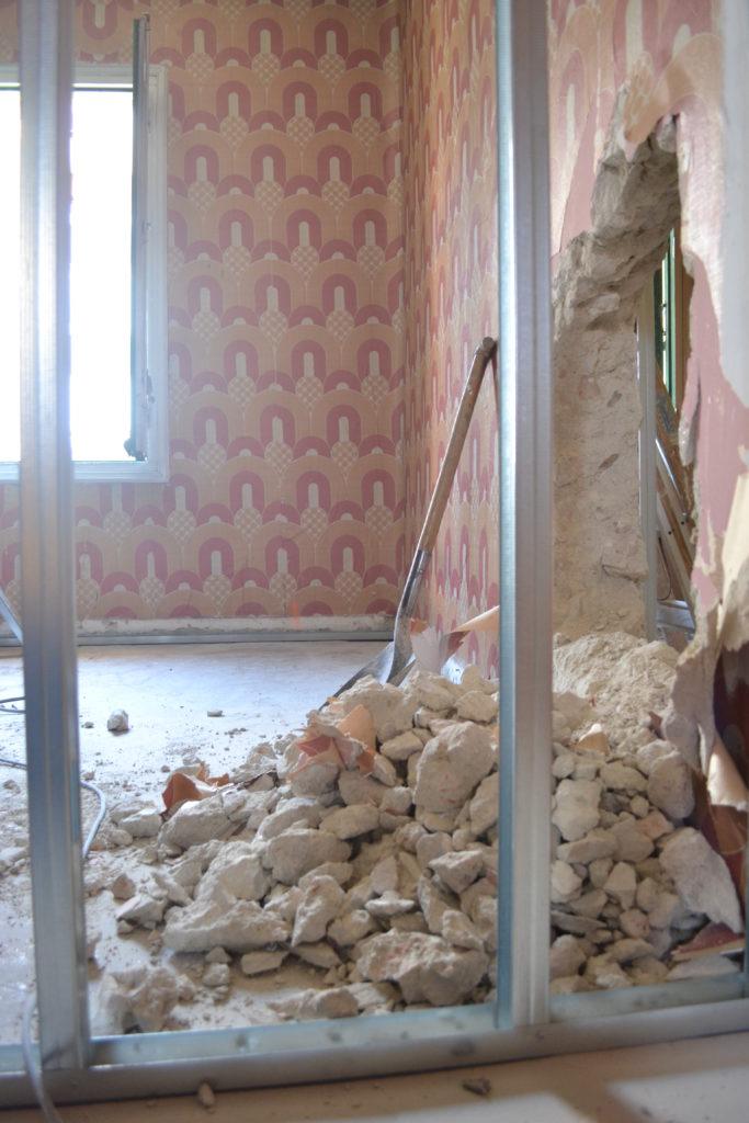 Obras de rehabilitación Casa Menudos Corazones