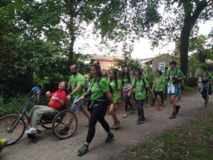 Camino de Santiago Jóvenes Menudos Corazones