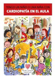 Portada de la edición actualizada de la guía de Menudos Corazones titulada Tengo un niño o una niña con cardiopatía en el aula