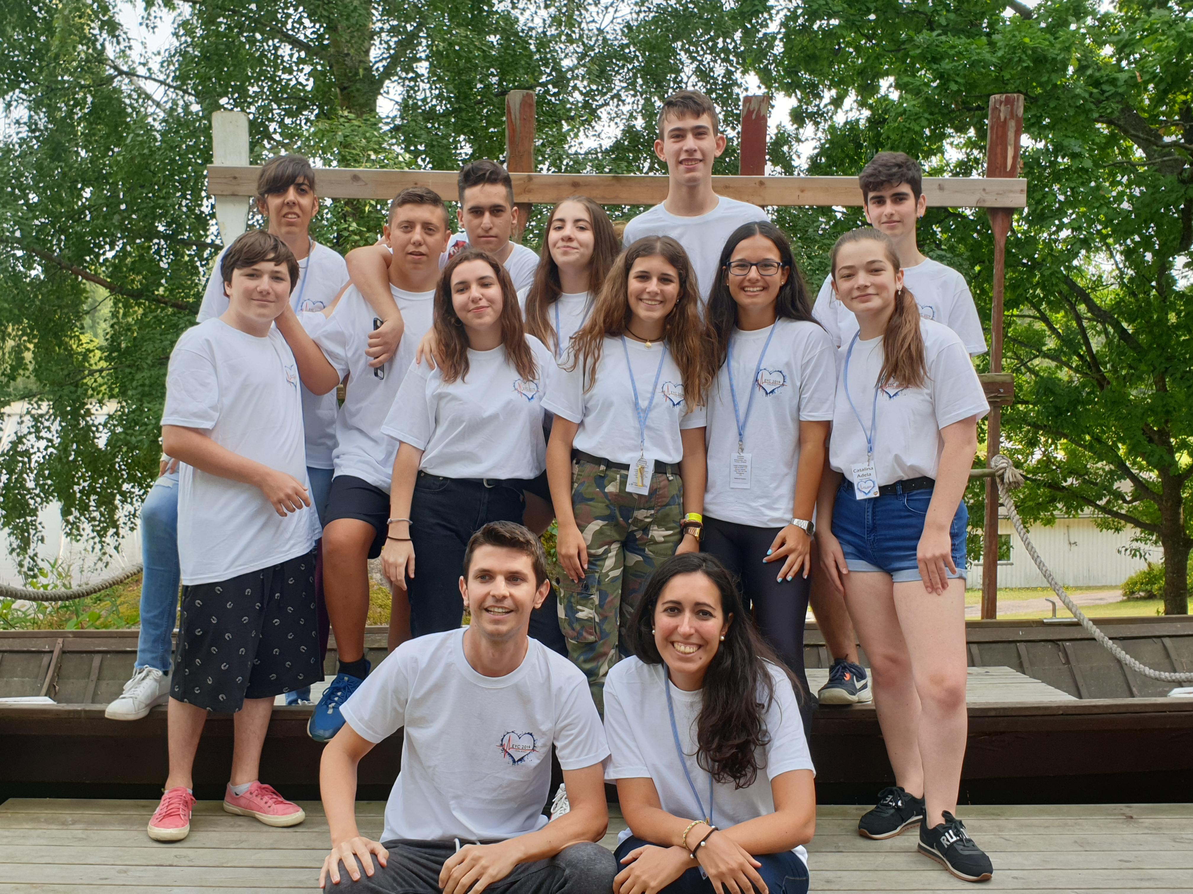 Campamento Europeo para Jóvenes, 2019 - Menudos Corazones
