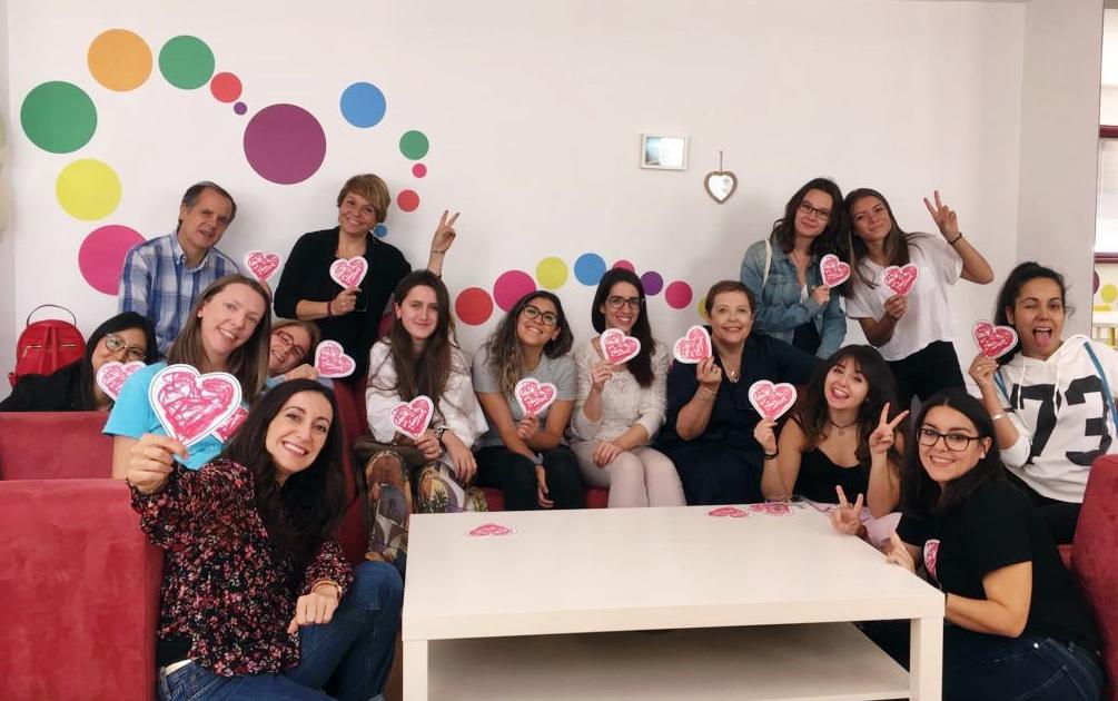 Grupo de participantes en la segunda jornada formativa de voluntariado en Menudos Corazones en 2019