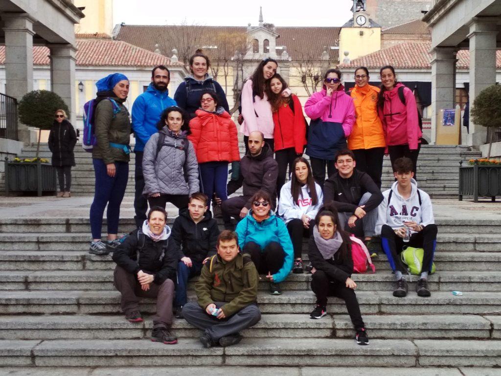 En la convivencia de jóvenes que participarán en el VI Encuentro Caminando a Santiago
