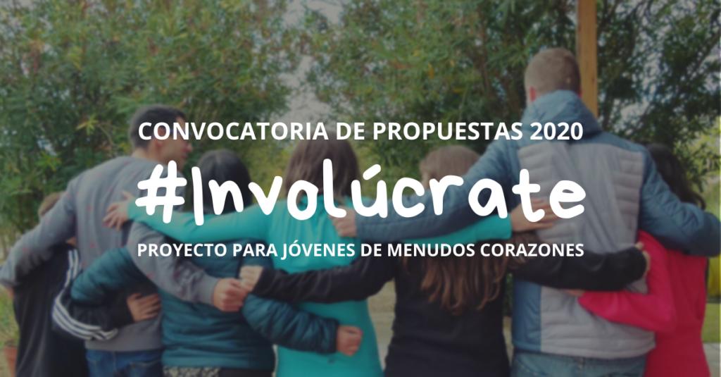 Cabecera #Involúcrate 2020 Proyecto para Jóvenes