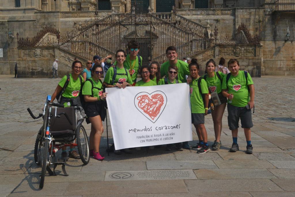 Melinda, en el VI Encuentro de Jóvenes Caminando a Santiago