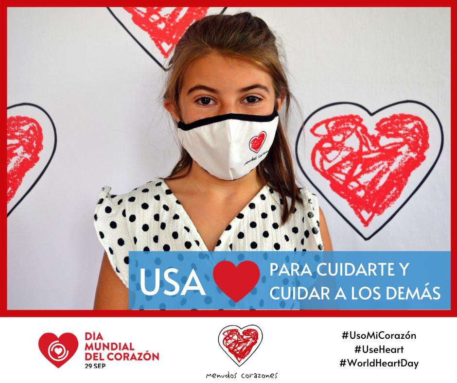 Imagen de la campaña de 2020 del Día Mundial del Corazón.