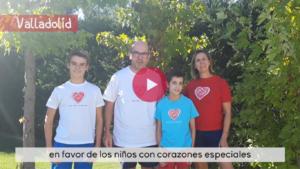 Imagen del vídeo de la Carrera Solidaria Menudos Corazones 2020