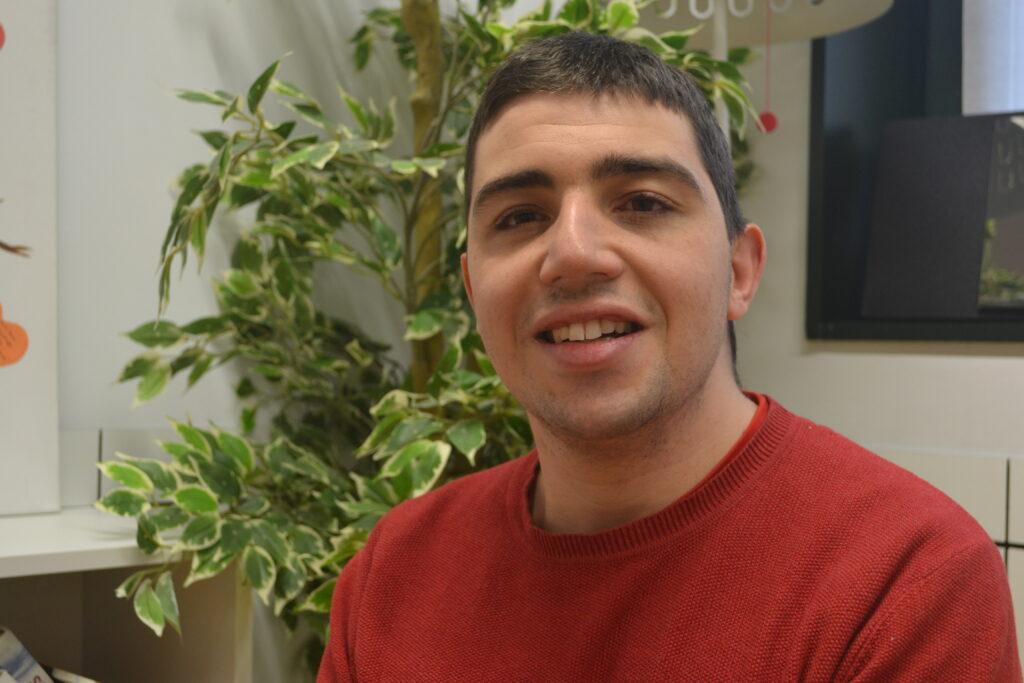 Retrato de Samuel Ropero, participante del Proyecto para Jóvenes de Menudos Corazones