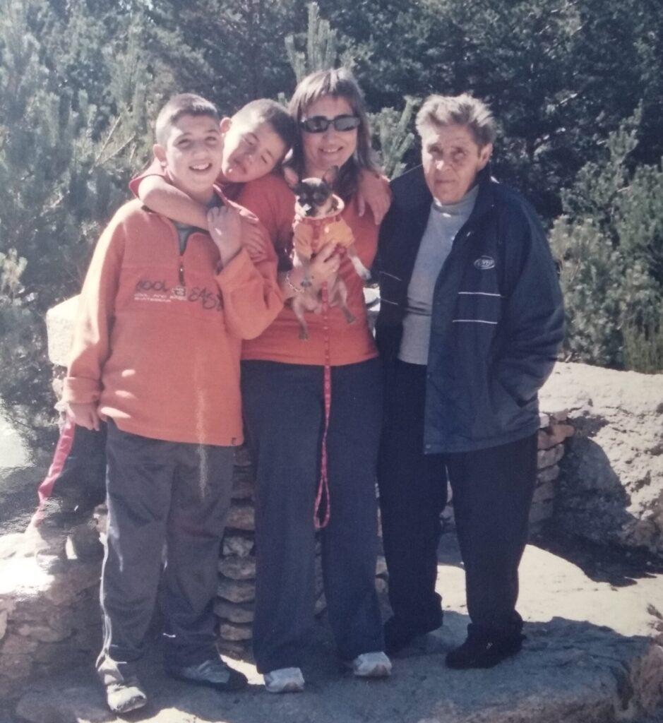 Samu y su familia