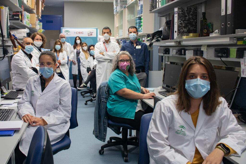 Foto del equipo multidisciplinar de investigación.