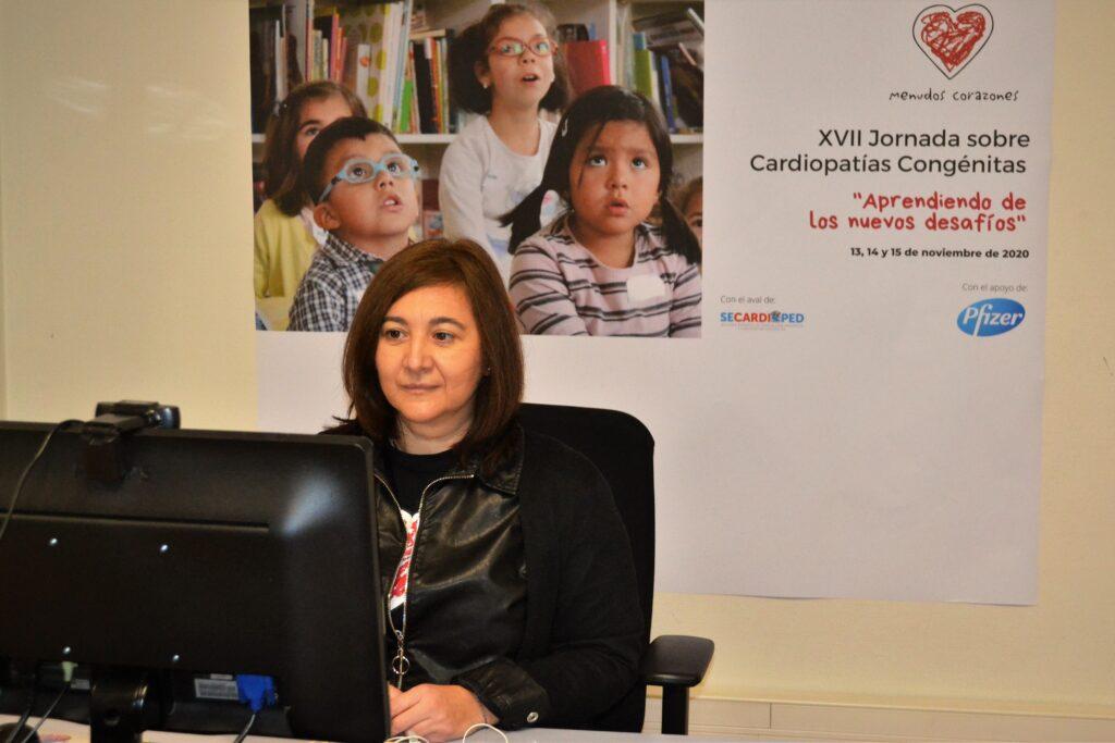 Ana Belén, en la XVII Jornada sobre Cardiopatías Congénitas