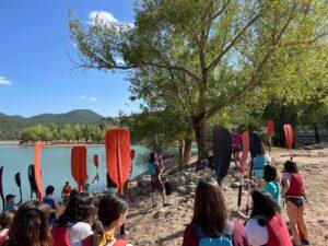 Preparación para la actividad náutica en el Encuentro para Jóvenes de Verano (2021)