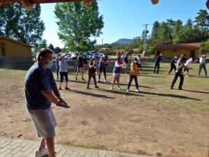 Tai Chi en el Encuentro para Jóvenes de Verano (2021)