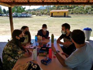 Juegos de mesa en el Encuentro para Jóvenes de Verano (2021)