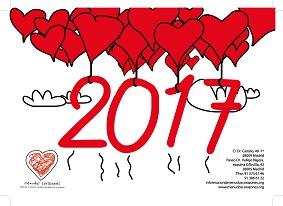 Calendario Menudos Corazones 2017