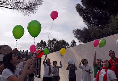 Participantes de la jornada de duelo de 2012
